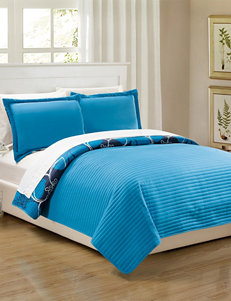 Chic Home Design Blue Quilts & Quilt Sets