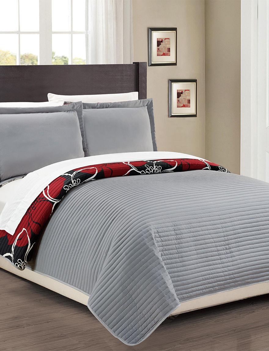 Chic Home Design Black Quilts & Quilt Sets