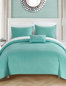 Chic Home Design 4-pc. Kingston Duvet Cover Set