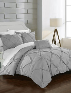 Chic Home Design Silver Duvets & Duvet Sets