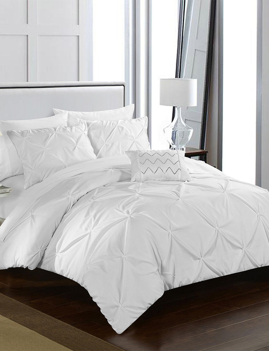 Chic Home Design White Duvets & Duvet Sets