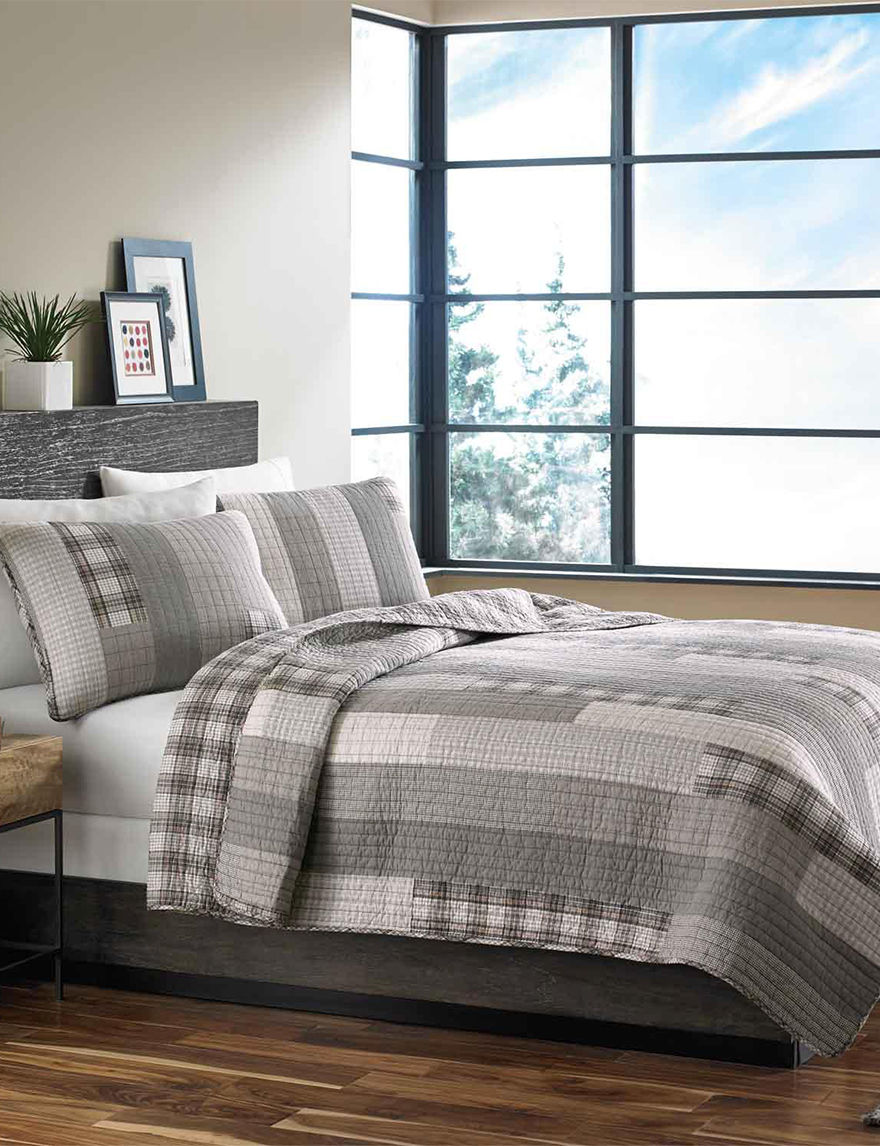 Eddie Bauer Grey Quilts & Quilt Sets