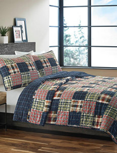 Eddie Bauer Blue/ Red Quilts & Quilt Sets
