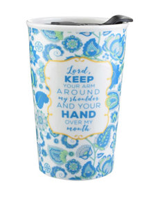Formation Blue Paisley Ceramic Travel Mug