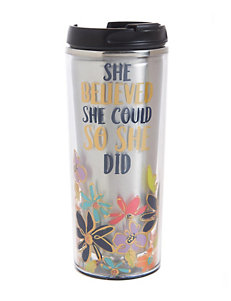 Formation She Believed Travel Mug