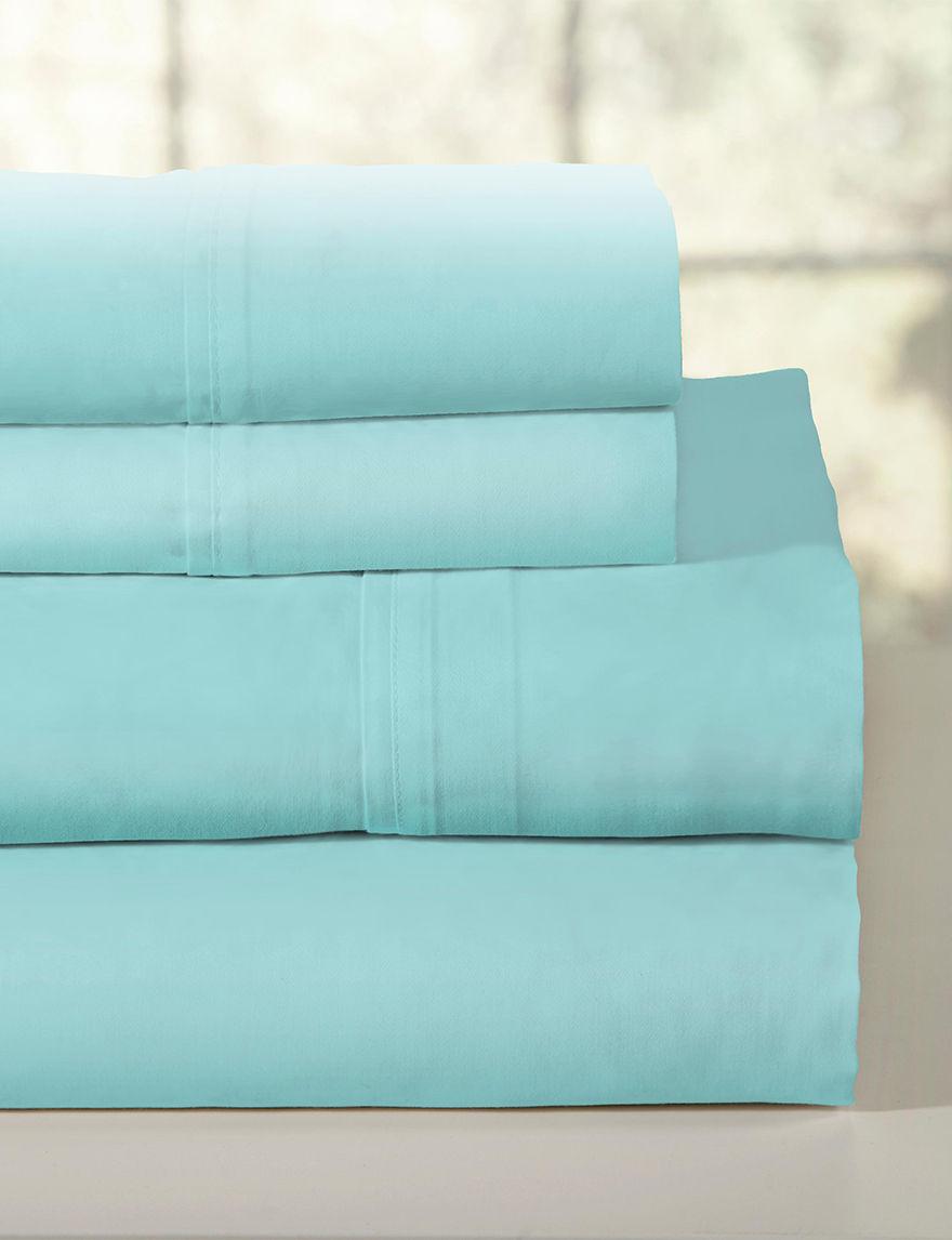 Pointehaven Aqua Sheets & Pillowcases