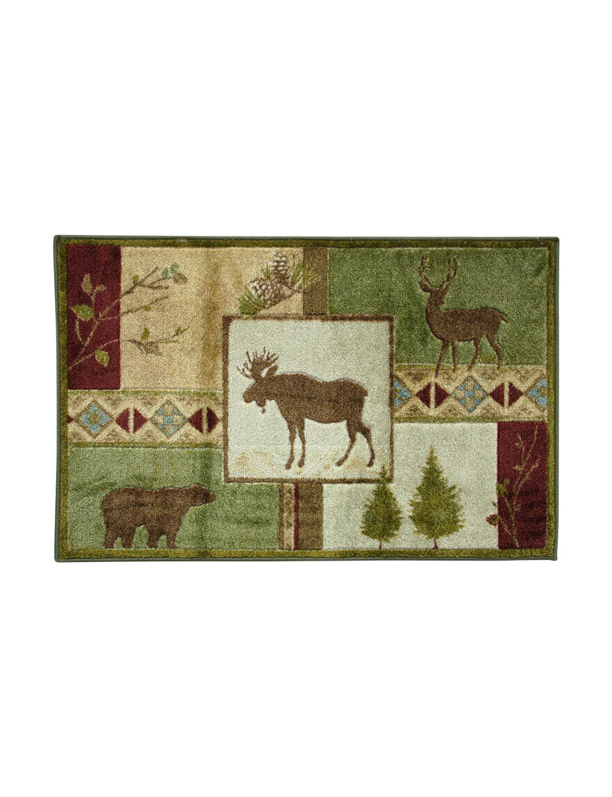 Bacova Guild Green Accent Rugs Rugs