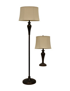 Decor Therapy Bronze Floor Lamps Table Lamps Lighting & Lamps