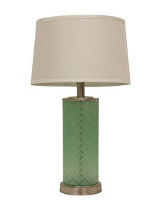 Decor Therapy Green Floor Lamps Table Lamps Lighting & Lamps