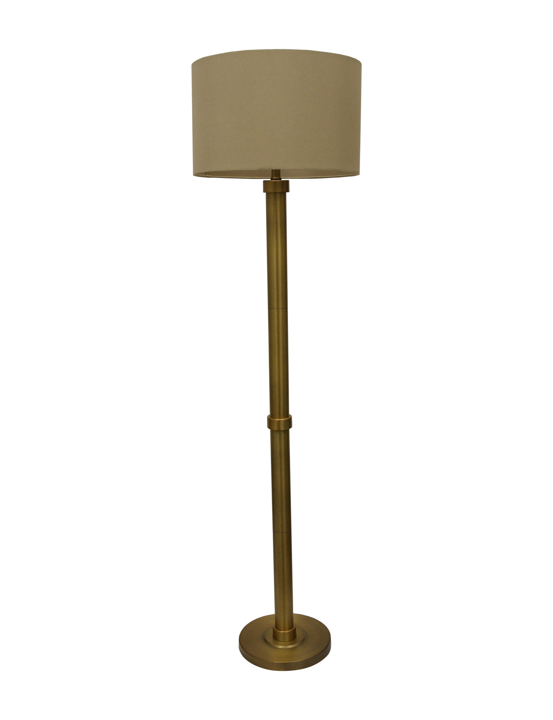 Decor Therapy Brass Floor Lamps Lighting & Lamps