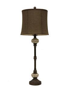 Decor Therapy Antique Mercury Glass Buffet Lamp