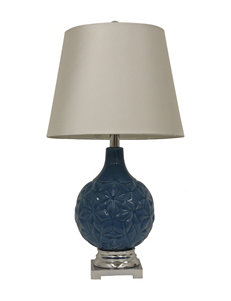 Decor Therapy Blue Floor Lamps Table Lamps Lighting & Lamps