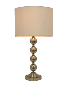 Decor Therapy Steel Floor Lamps Table Lamps Lighting & Lamps