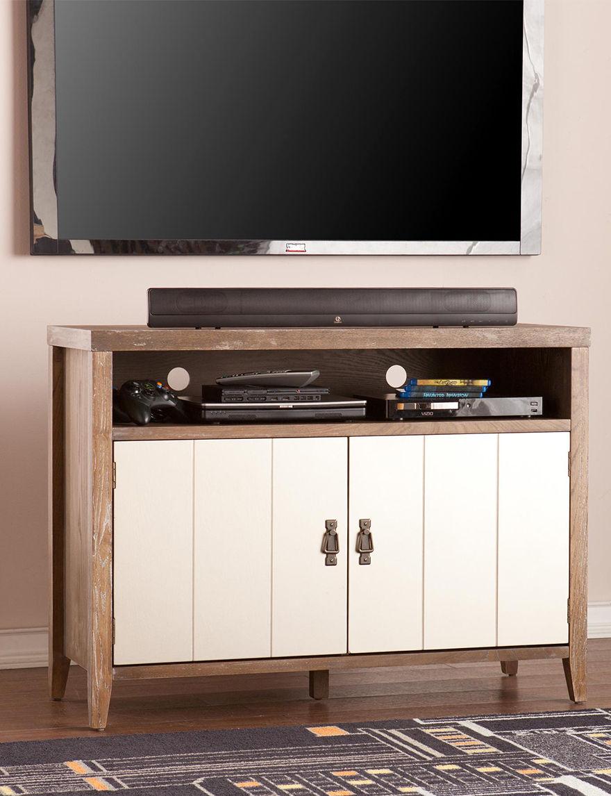 Southern Enterprises Oak TV Stands & Entertainment Centers Living Room Furniture
