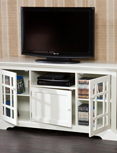 Southern Enterprises Off White TV Stands & Entertainment Centers Living Room Furniture