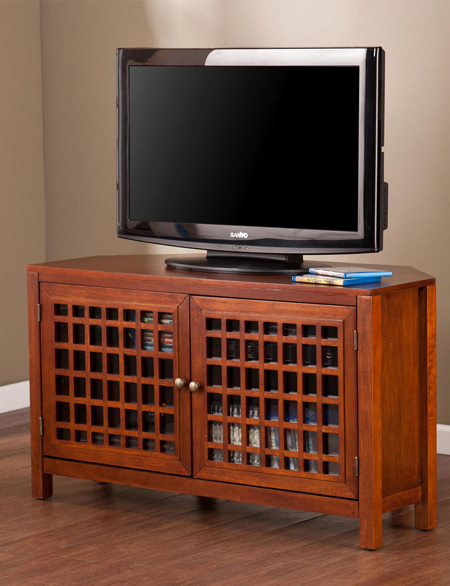 Southern Enterprises Walnut TV Stands & Entertainment Centers Living Room Furniture