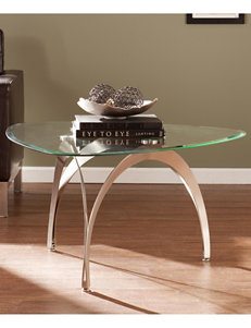 Southern Enterprises Silver Coffee Tables Living Room Furniture
