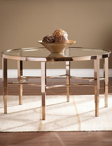 Southern Enterprises Gold Coffee Tables Living Room Furniture