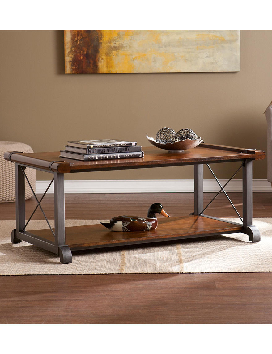 Southern Enterprises Brown Coffee Tables Living Room Furniture