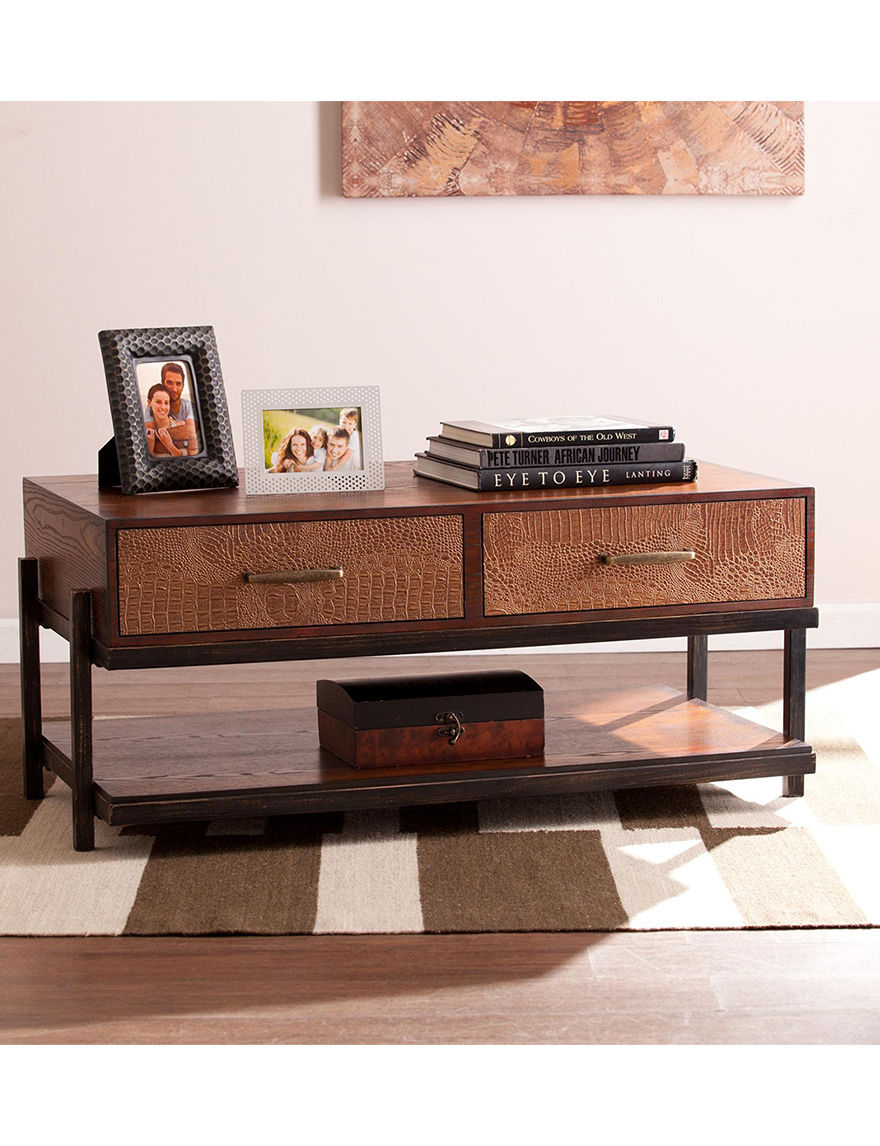 Southern Enterprises Red Coffee Tables Living Room Furniture