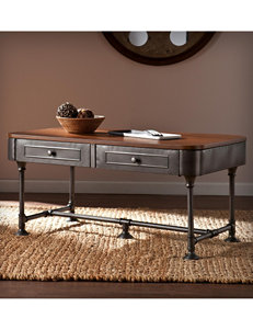 Southern Enterprises Dark Brown Coffee Tables Living Room Furniture