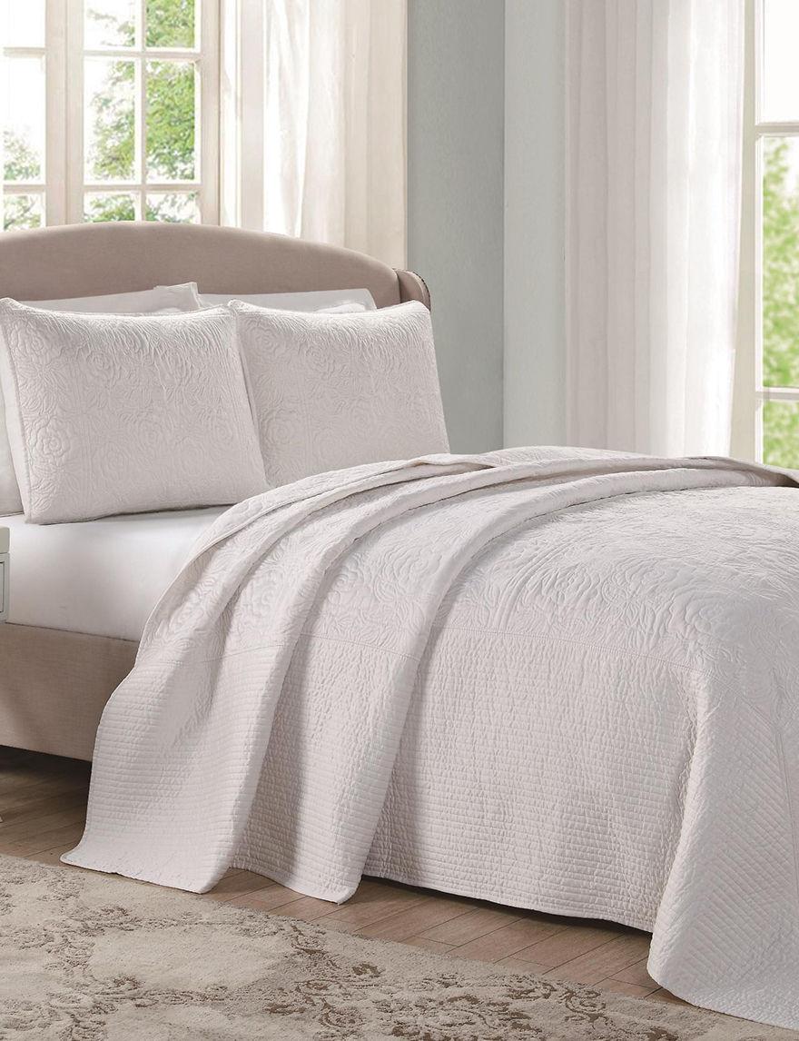 Laura Ashley Ecru Pillow Shams