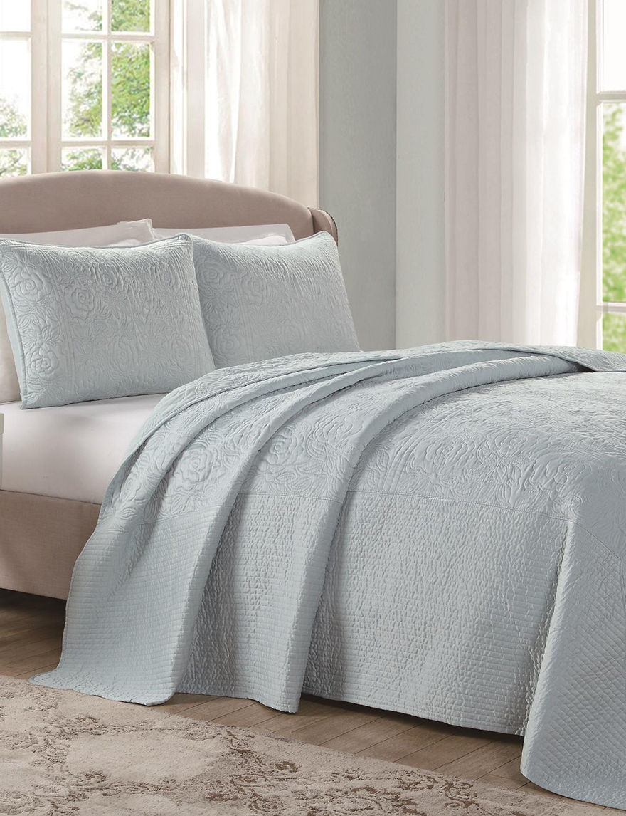 Laura Ashley Sky Comforters & Comforter Sets