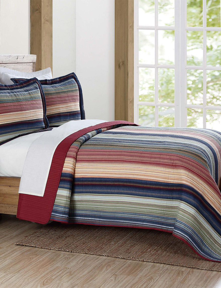 Brooklyn Loom Red Quilts & Quilt Sets