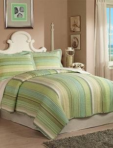 Brooklyn Loom Green Quilts & Quilt Sets