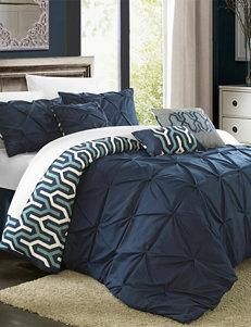 Chic Home Design 7-pc. Trefort Reversible Comforter Set