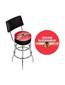 NHL Red Bar & Kitchen Stools Kitchen & Dining Furniture NHL