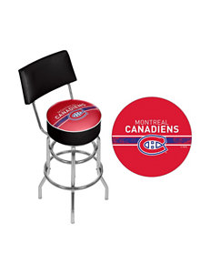 NHL Montreal Canadiens Swivel Bar Stool With Back