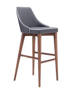Zuo Modern Dark Grey Bar & Kitchen Stools Dining Tables Kitchen & Dining Furniture
