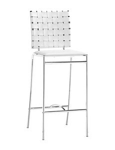 Zuo Modern White Dining Chairs Kitchen & Dining Furniture