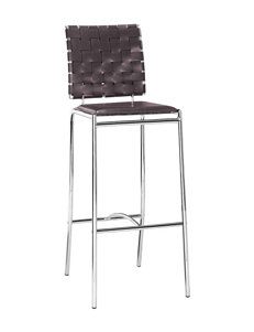 Zuo Modern 2-pc. Criss Cross Barstool Set