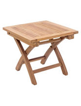 Zuo Starboard Natural Side Table