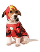 2-pc. Iron Man Pet Costume