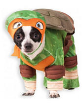 Teenage Mutant Ninja Turtle Michelangelo Dog Costume