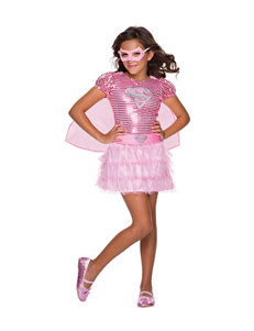 Supergirl 4-pc. Pink Sequin Costume