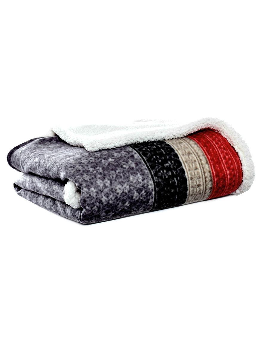 Eddie Bauer Grey Blankets & Throws