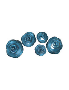 Fetco Shawnee Decorative Rose Wall Art