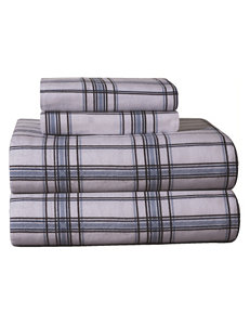 Pointehaven Blue / Plaid Sheets & Pillowcases