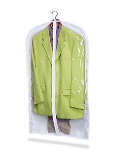 Honey-Can-Do International White Garment & Drying Racks Storage & Organization