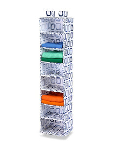 Honey-Can-Do International White Multi Storage Shelves Storage & Organization