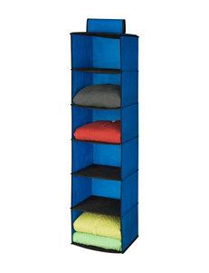 Honey-Can-Do International Blue Storage Shelves Storage & Organization