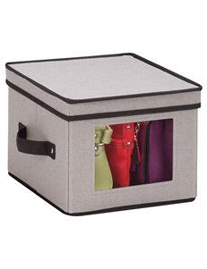 Honey-Can-Do International Grey Storage Bags & Boxes Storage & Organization