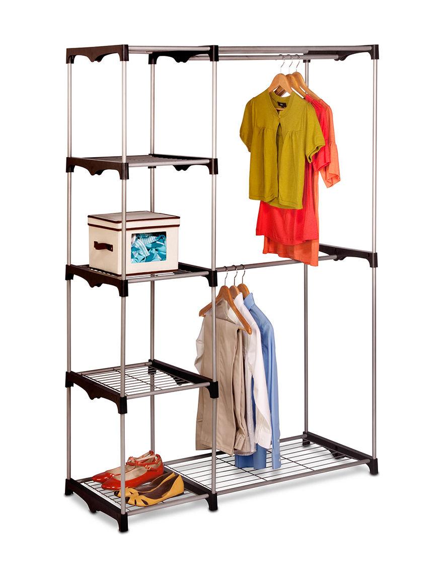 Honey-Can-Do International Silver Storage Bags & Boxes Storage & Organization