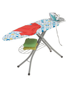 Honey-Can-Do International Blue Irons & Ironing Boards Irons & Clothing Care
