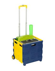 Honey-Can-Do International Blue Carts & Drawers Storage & Organization
