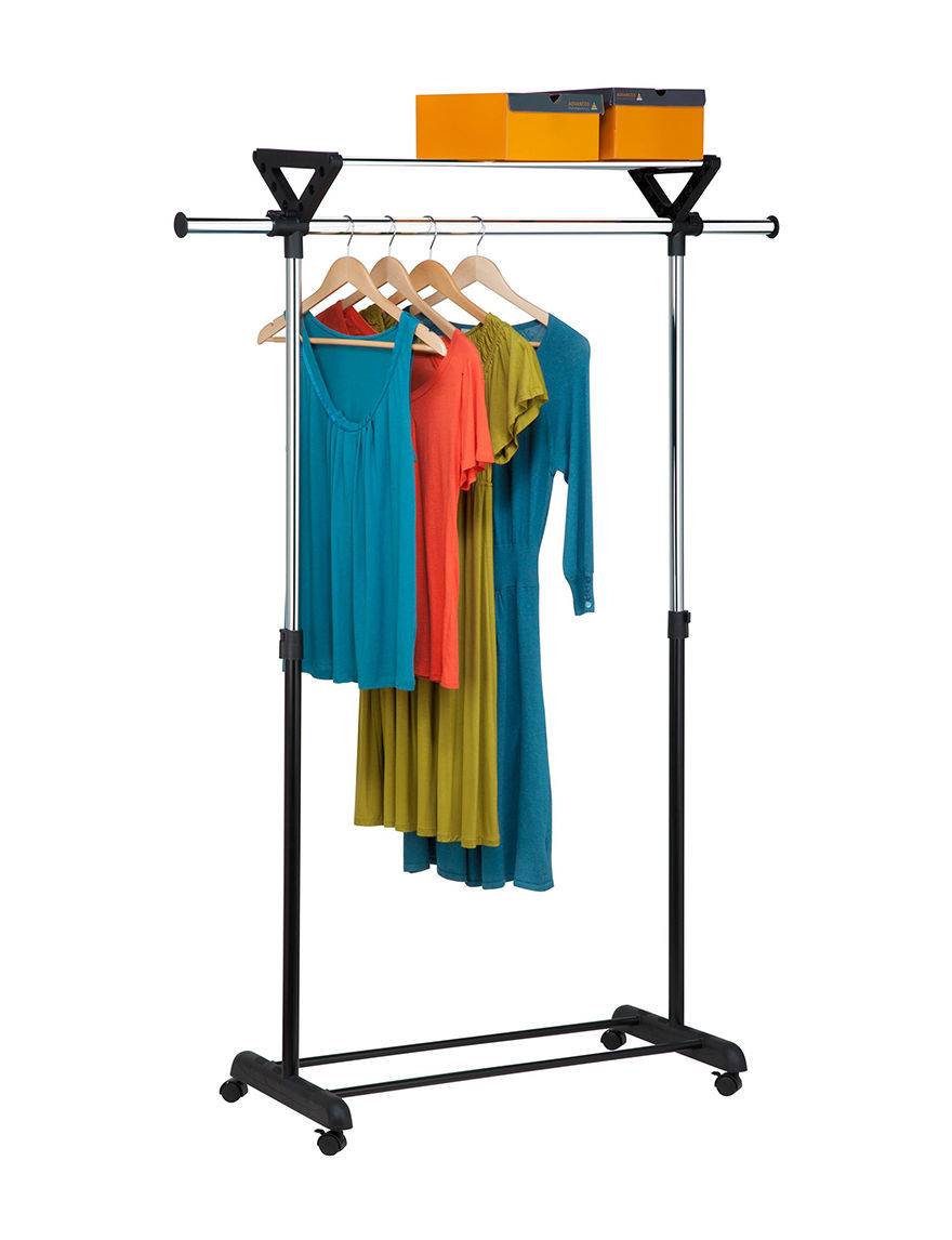 Honey-Can-Do International Grey Garment & Drying Racks Storage & Organization